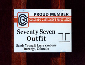 Colorado Cattlemen Durango CCA
